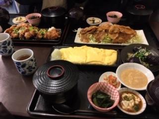 たまごやき定食(ご飯、味噌汁、とろろ、小鉢付き) イメージ画像