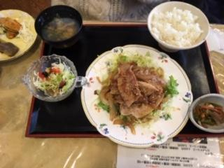 生姜焼き定食(小鉢、サラダお替り自由) イメージ画像