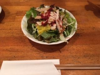 前菜のサラダ イメージ画像